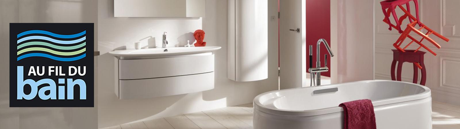 Au fil du bain - Sanitaire - Salle de bain - Pons - Saintes