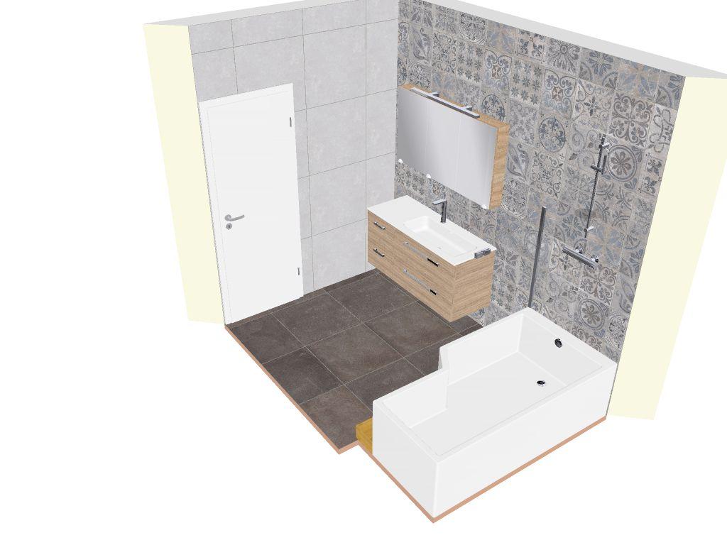 Climair - Sanitaire - Réalisation salle de bain 3D
