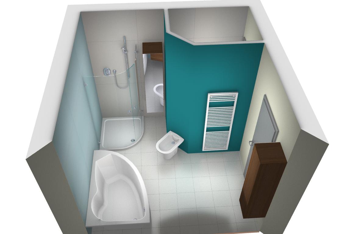 Climair sanitaire salle de bain espace toilette - Salle de bain en 3d ...
